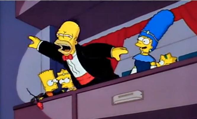 Homer BAFTA