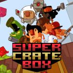 pantalla de título, super crate box