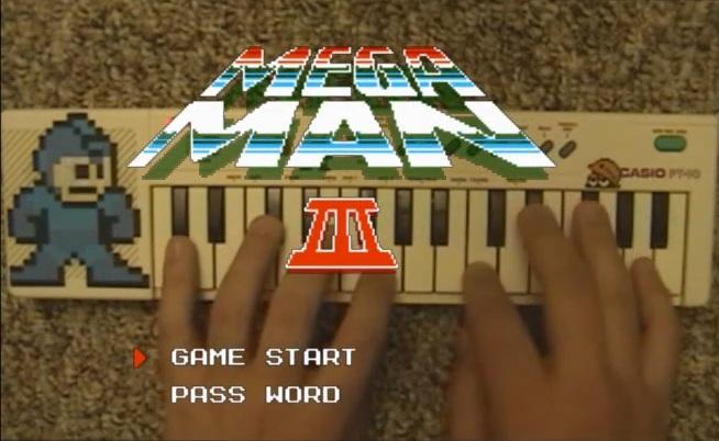 Megaman 3 casio pt10