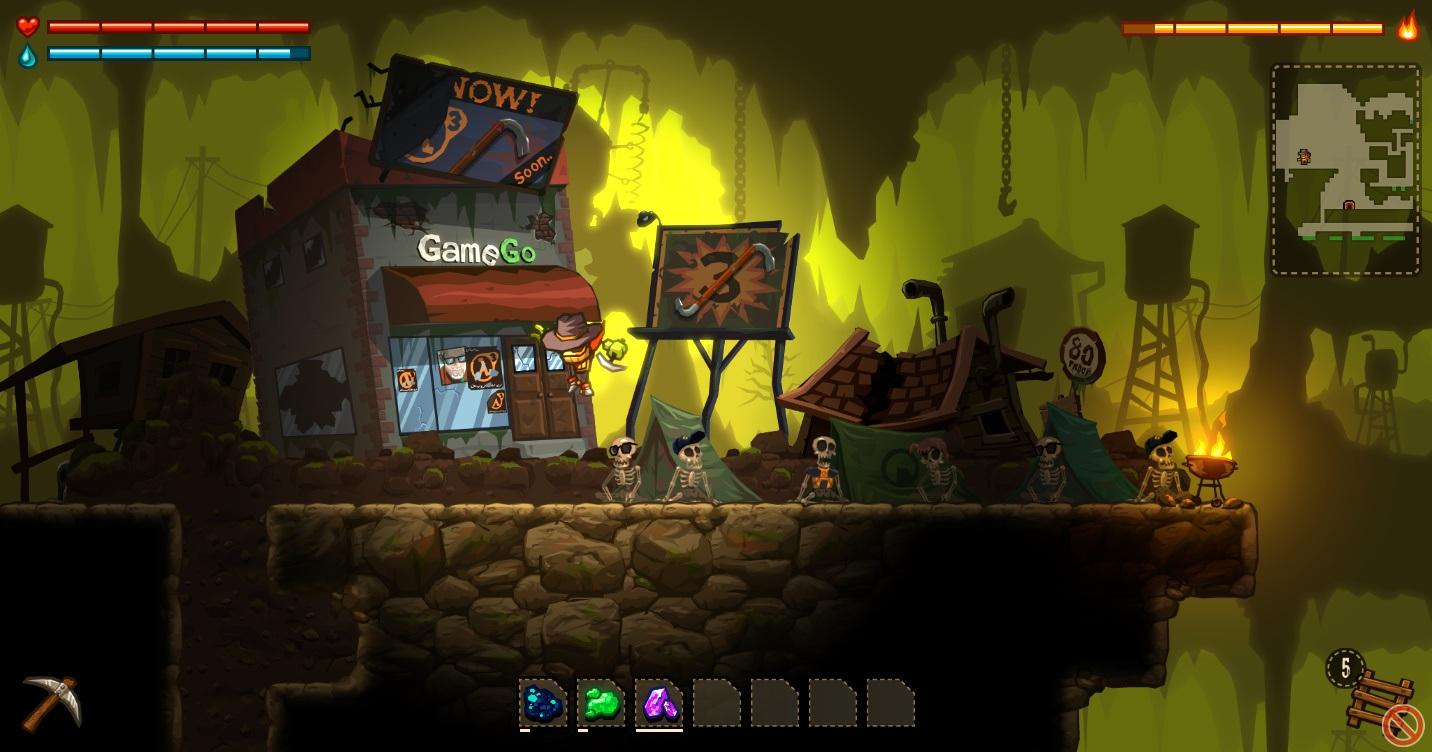 SteamWorld Dig – A fistful of Dirt HL3