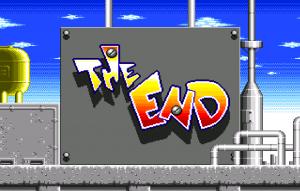 la verdadera pantalla final de Dynamite Headdy