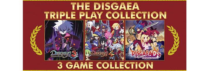disgaea triple collection