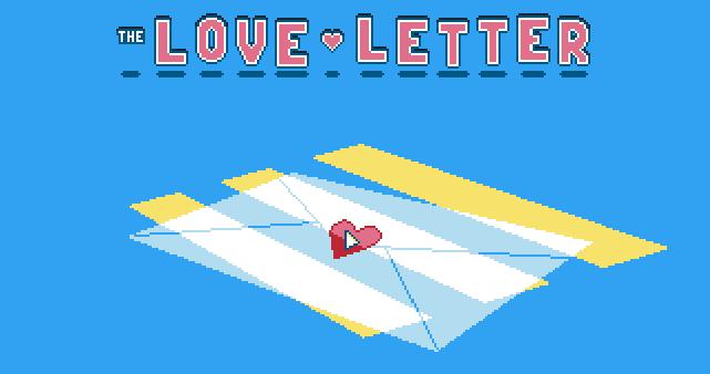 san valentín carta d'amour