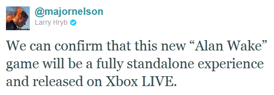 tweet major nelson