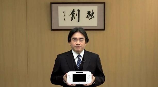 nintendo wiiu satoru iwata