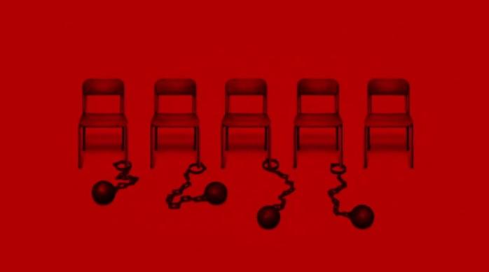 persona 5 sillas rojas