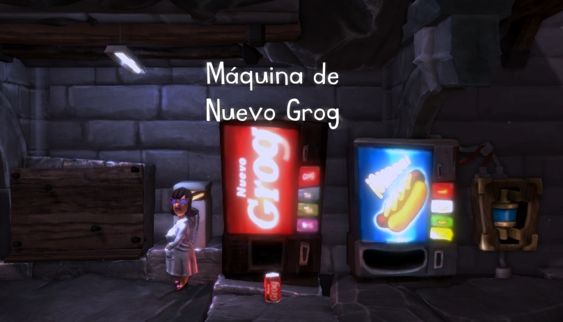 the cave new grog